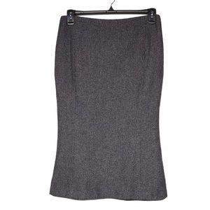 Lauren Ralph Lauren Wool Midi Skirt